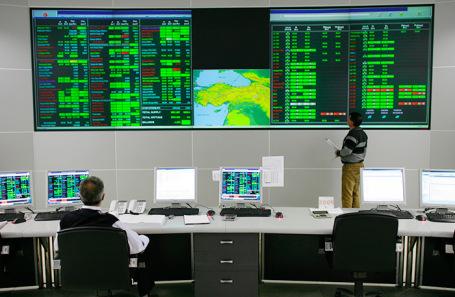 Центр контроля природного газа. Турция.
