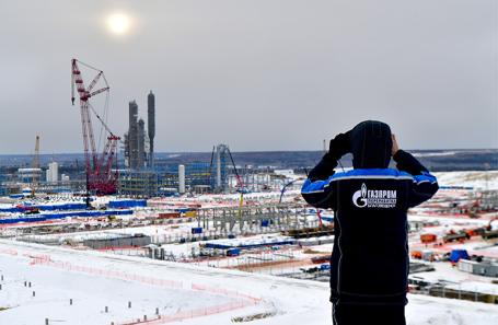 Амурский газоперерабатывающий завод «Газпрома».
