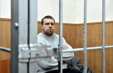 Фигурант дела журналиста Ивана Голунова Денис Коновалов .