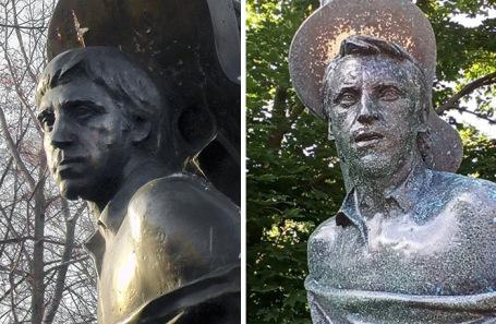 Сын Высоцкого пояснил  решение поменять  монумент  отца