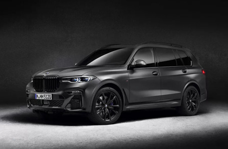 BMW X7 Dark Shadow Edition.