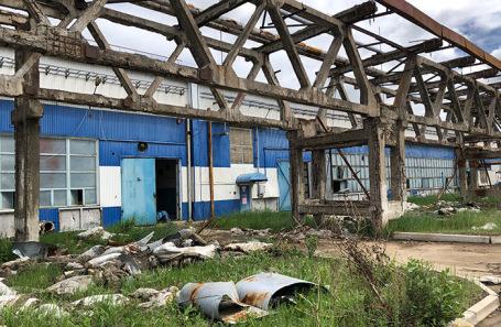 Предприятие «Усольехимпром» в Иркутской области.