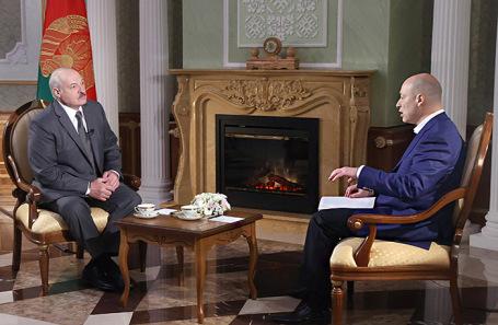 Александр Лукашенко и Дмитрий Гордон.