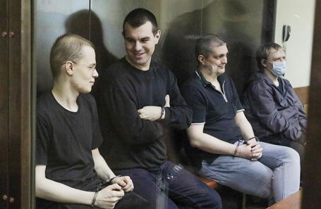 Вячеслав Крюков, Руслан Костыленков, Петр Карамзин и Дмитрий Полетаев (слева направо).
