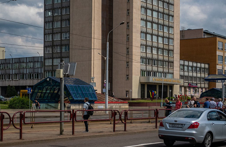 Главное здание Минского электротехнического завода.