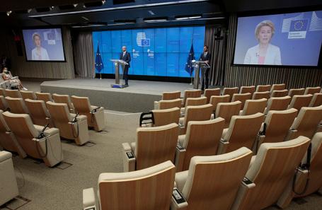 Саммит по ситуации в Белоруссии в Брюсселе.