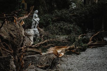 Последствия шторма в Вероне.