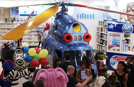 Флагманский магазин компании «Детский мир» на улице Воздвиженка.