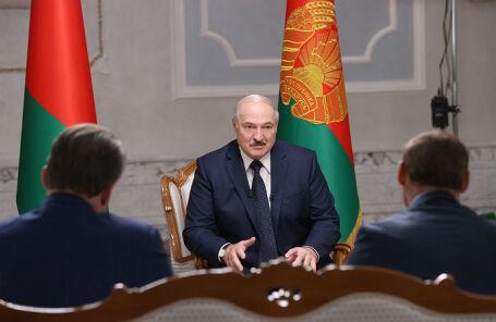 Протесты, Колесникова и Координационный совет: Лукашенко дал интервью российским СМИ