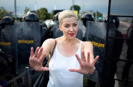 Мария Колесникова подала заявление в СК Белоруссии из-за угроз со стороны силовиков