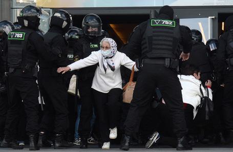 В Белоруссии начались очередные массовые акции протеста
