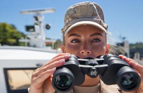 Эксперимент по созданию женского экипажа патрульного катера на ЧФ завершился успешно