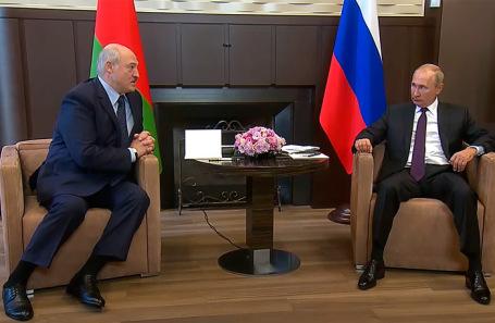 В Сочи проходит встреча Путина и Лукашенко