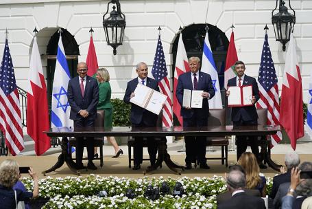 Израиль, ОАЭ и Бахрейн подписали в Белом доме договор о нормализации отношений