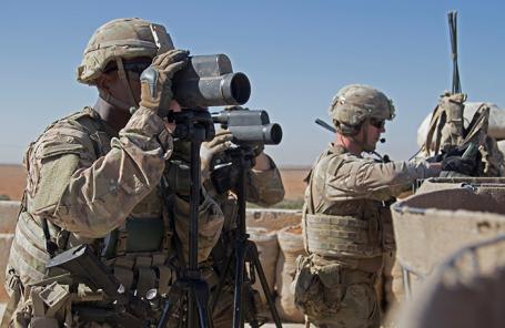 США усиливают военную группировку на северо-востоке Сирии