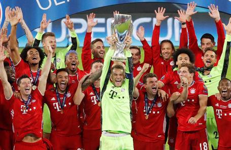 «Бавария» второй раз в истории получила Суперкубок УЕФА