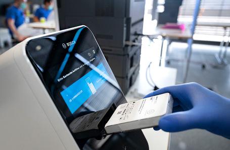 Узнать о болезни за 39 минут: Bosch разработала самый быстрый тест на COVID-19