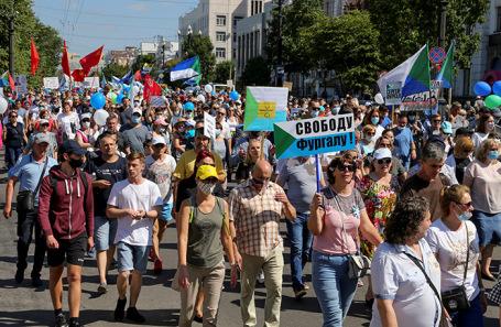 В Хабаровске завели первое уголовное дело против участника акции в поддержку Фургала