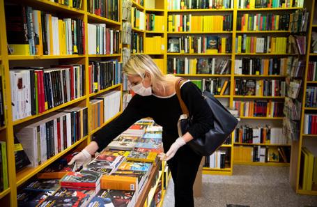 Книжные магазины с трудом выходят из карантина