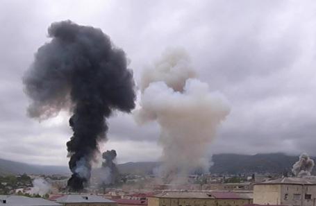 Последствия военного конфликта в Нагорном Карабахе.