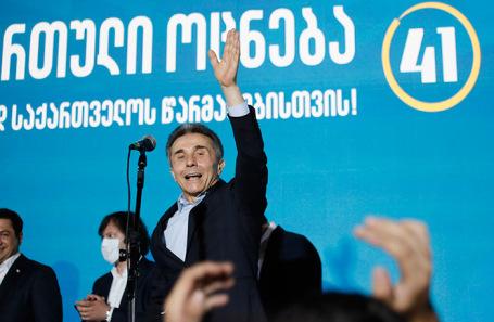 Лидер правящей партии «Грузинская мечта» Бидзина Иванишвили.