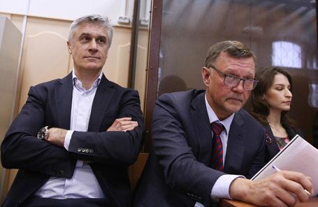 Фигуранты дела Baring Vostok Майкл Калви (слева) и Филипп Дельпаль (справа).