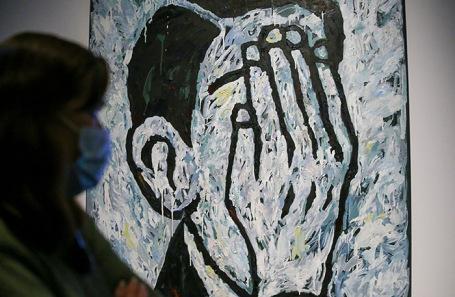 На выставке российского современного искусства в музее «Гараж».
