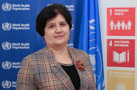 Представитель ВОЗ в России Мелита Вуйнович.