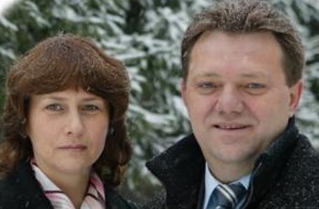 Галина и Иван Кляйн.