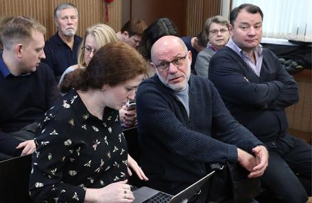 Софья Апфельбаум, Алексей Малобродский и Юрий Итин (слева направо в первом ряду).