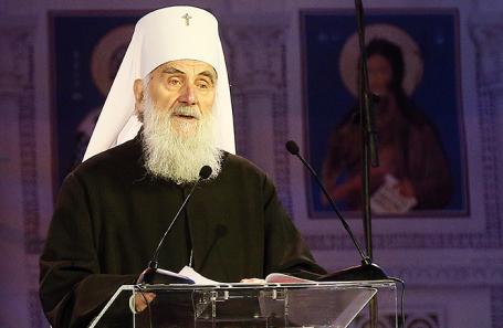 Патриарх Сербский Ириней.
