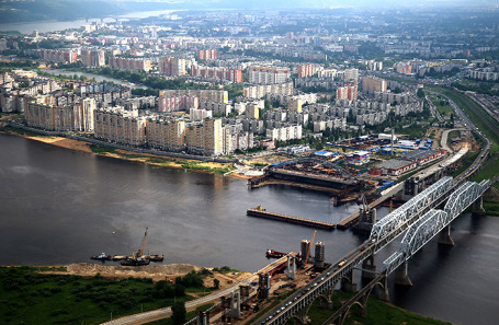 Виды Нижниего Новгорода.