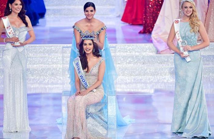 Финал конкурса «Мисс Мира», победительницей которого стала индийская модель Мануши Чхиллар. Санья, Китай.
