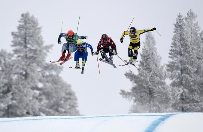 Соревнования в рамках Кубка мира по фристайлу в Идре, Швеция.