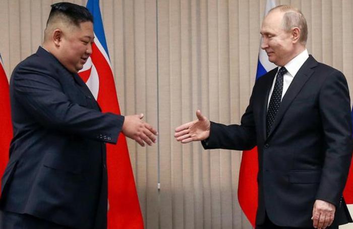Встреча президента России Владимира Путина и лидера КНДР Ким Чен Ына во Владивостоке.