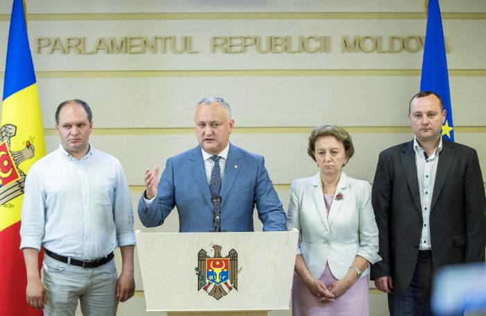 Молдавия изгнала прежнюю власть