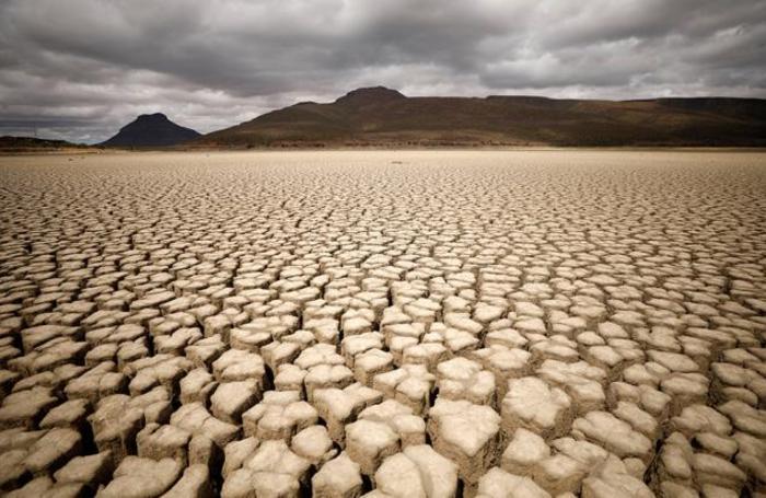 Засуха в Храфф-Рейнете, ЮАР.