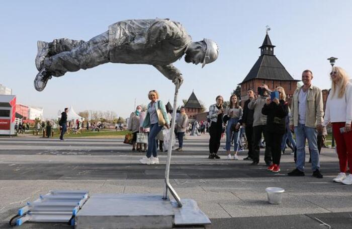 Празднование 500-летия Тульского кремля.
