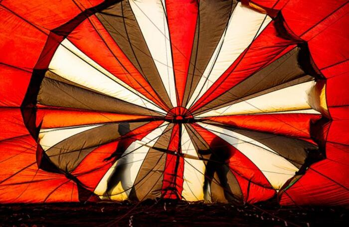 Международный фестиваль воздушных шаров в Бристоле.