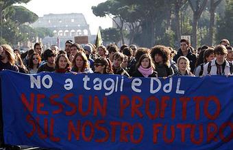 Итальянские студенты восстали против геронтократии