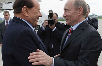 Щедрая мужская дружба Путина и Берлускони