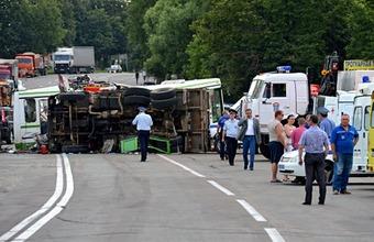 Авария под Подольском унесла жизни 18 человек