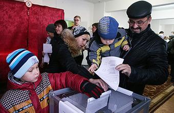 Выборы в ДНР и ЛНР. Активность избирателей очень высока