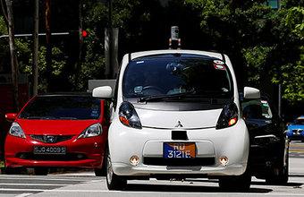 В Сингапуре машины научились ездить самостоятельно