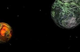 Уникальное явление в космосе — встреча «двух Лун»