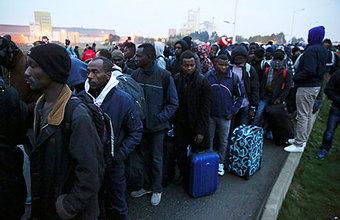 Париж начал зачистку на британской границе