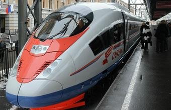 Поезд во льду. Сотни людей застряли в «Сапсанах» под Новгородом