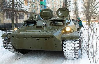 Российские двигатели для украинских БТР