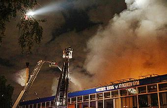 После пожара в Москве задержался сильный запах гари