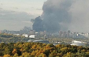 «Гринпис России»: последствия пожара в торговом комплексе «Синдика» могут быть «нехорошие»